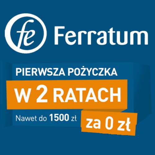 1500 zł za darmo na 60 dni – nowa oferta Ferratum