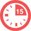 czas otrzymania - 15-minut