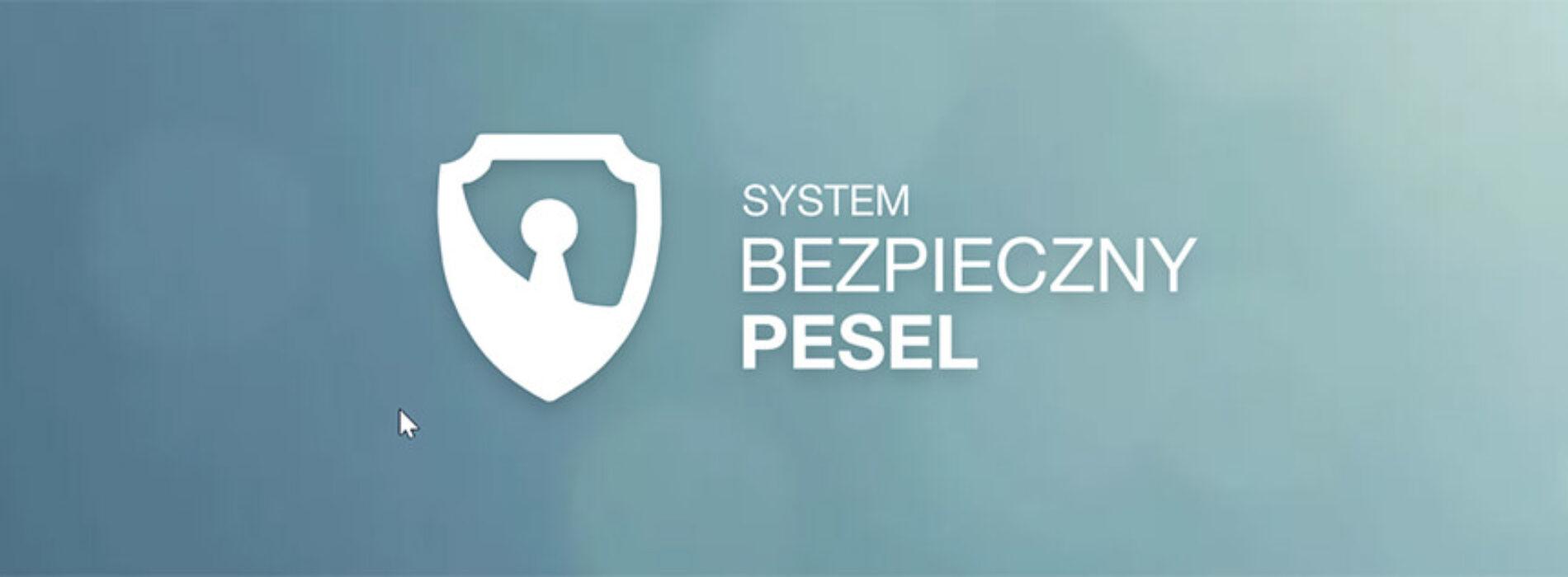 System Bezpieczny PESEL – zabezpiecz się wyłudzeniem pożyczki