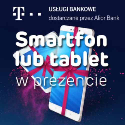 Tablet lub smartfon w zamian za kredyt konsolidacyjny w T-MOBILE usługi bankowe