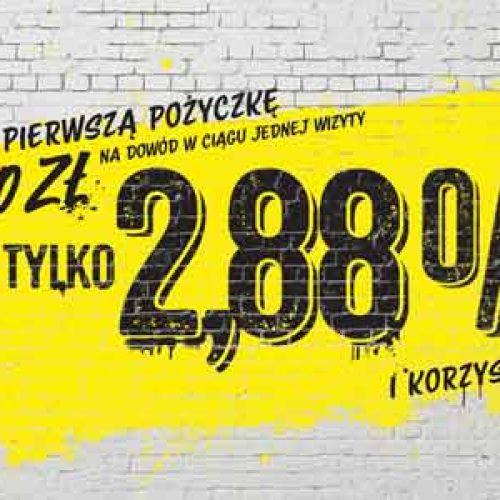 Pierwsza pożyczka z RRSO 2,88% – oferta Raiffeisen Polbank