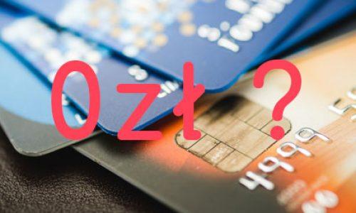 Masz w ramach konta kartę za 0 zł? Uważaj, niektóre banki tak czy owak naliczą ci opłaty!