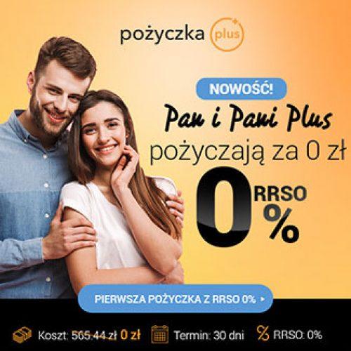 Pierwsza pożyczka za darmo do 2000 zł od Pożyczka Plus