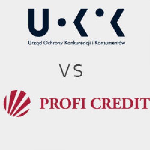 Postępowanie UOKiK przeciwko Profi Credit