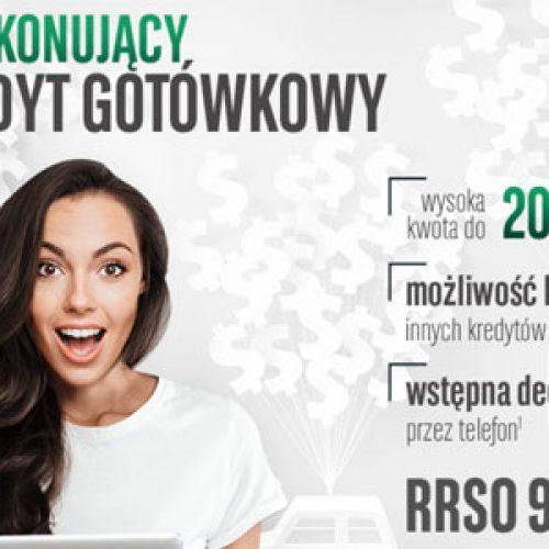 Kredyt Gotówkowy BGŻ BNP Paribas z RRSO 9,7%