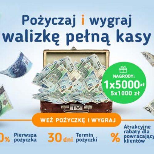 Wakacyjny konkurs w Smart Pozyczka – weź pożyczkę i wygraj walizkę kasy!