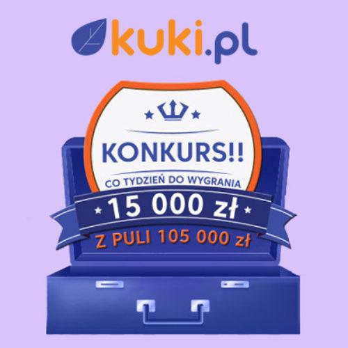Wygraj 15 000 zł w nowym konkursie Kuki!