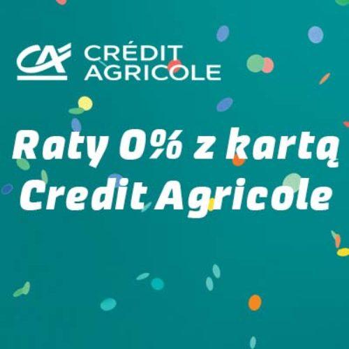 Promocja w Credit Agricole – płać kartą, a spłatę rozłóż na raty 0%