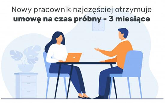 umowa na czas próbny