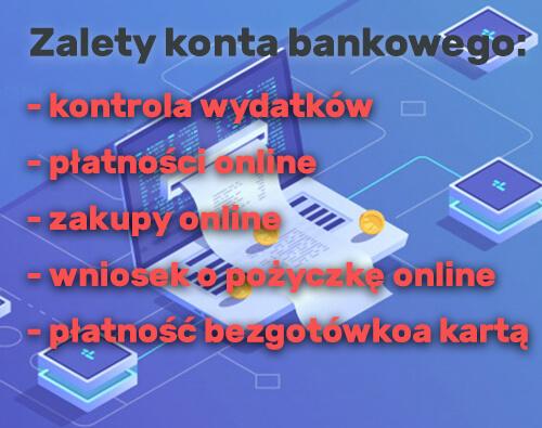konto bankowe online - możliwości
