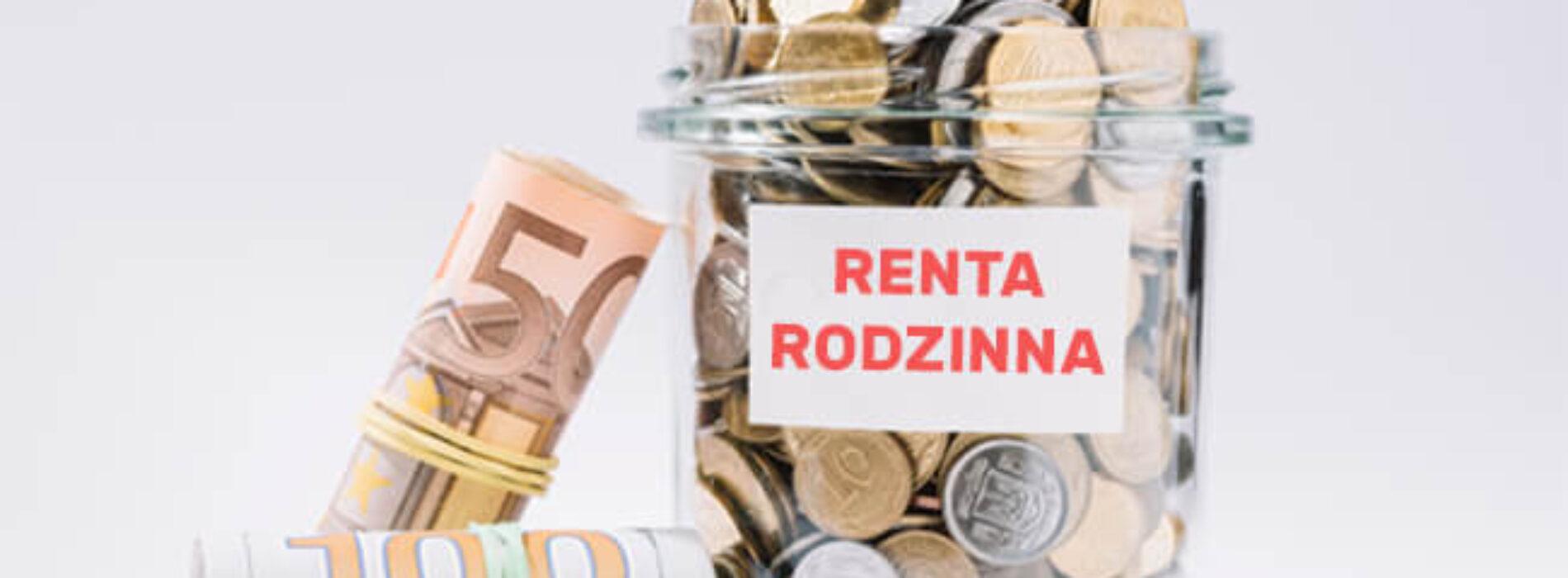 Renta rodzinna – czym jest i jak ją otrzymać?
