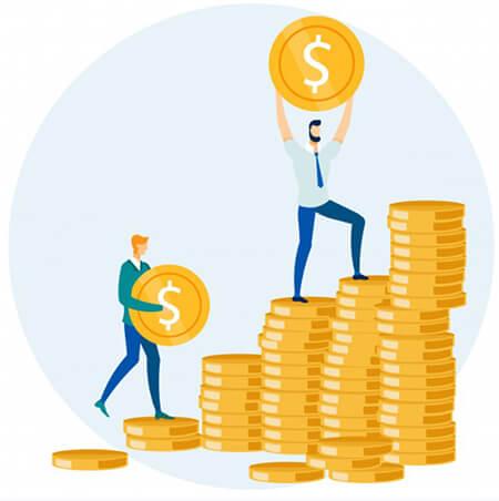 wysokość pożyczki a dochody