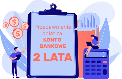 przedawnienie opłat za konto bankowe